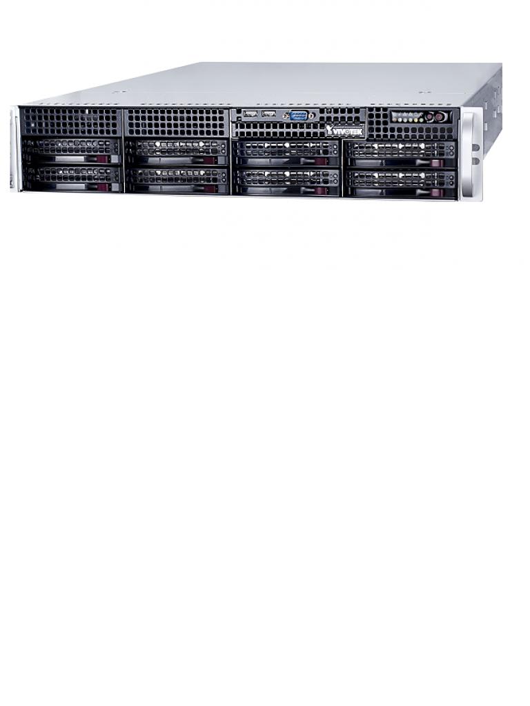 VIVOTEK NR9581 - NVR 32 Canales / Hasta 8  HDD / Salida  HDMI / H265 / ONVIF / Dual LAN / Energia redundante