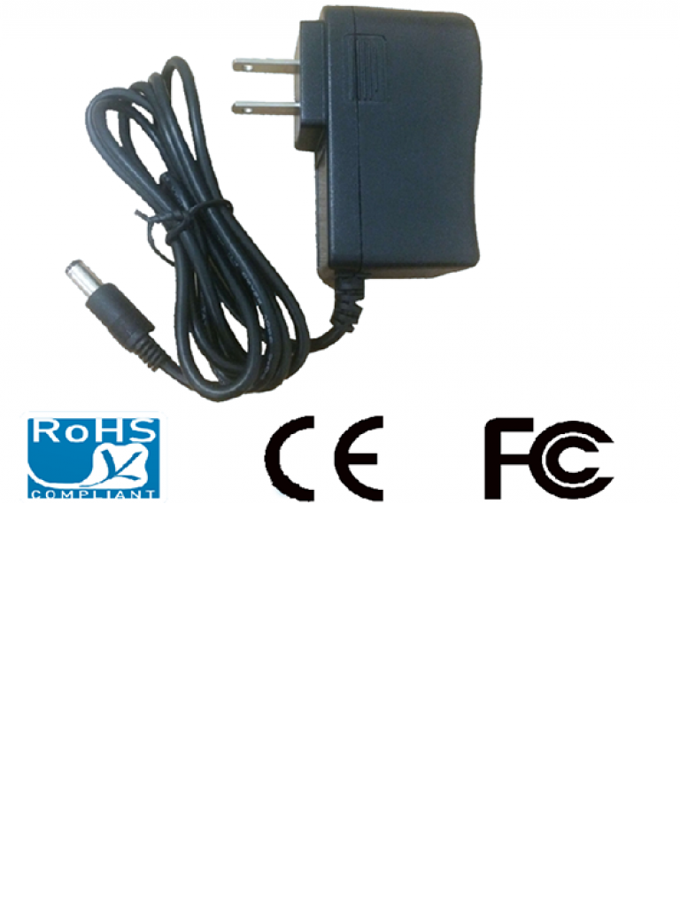 SAXXON PSU0502E - FUENTE DE PODER REGULADA 5V CD/ 2 AMPERES/ USOS MULTIPLES/ CCTV/ ACCESO/ COLOR NEGRO