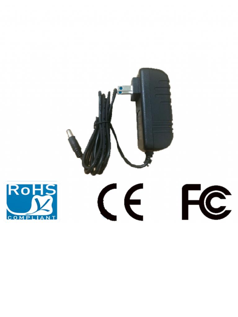 SAXXON PSU1202E- FUENTE DE PODER REGULADA 12V DC/ 2 AMPERES/ CABLE DE 1.2MTS