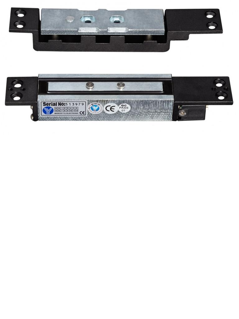 YLI YM2400SL - Contrachapa magnetica / Uso rudo / Hasta 1200 Kg de sujecion / Ideal para puertas de cortesia / Sensor de puerta