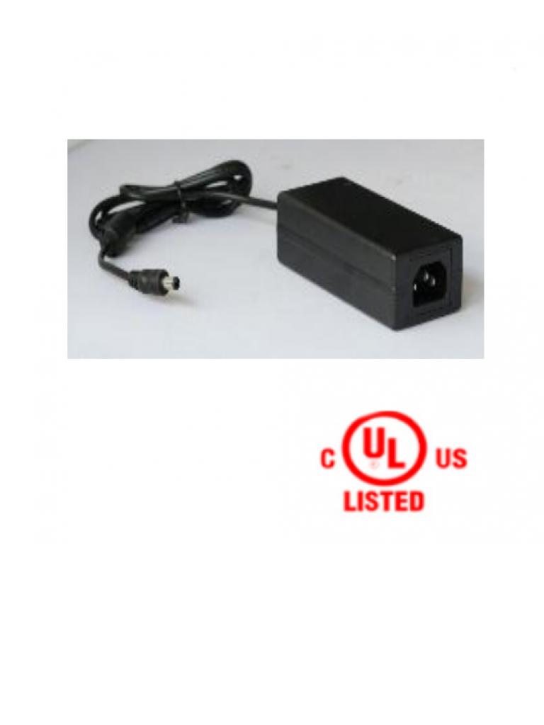SAXXON PSU1205D - Fuente de poder regulada 12V CD / 5 Amperes / Certificado UL / Ideal para equipos de CCTV de alto consumo de corriente