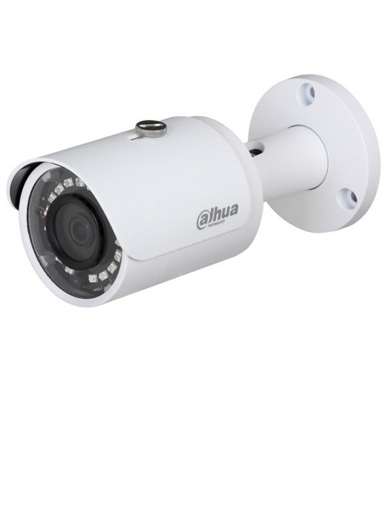 DAHUA HFAW1100S28S3 - Camara bullet  HDCVI  720p / TVI / A HD / CVBS / Lente 2.8 mm / 0.05 Lux color / DWDR / Smart ir 30  Mts / IP67 / Metalica