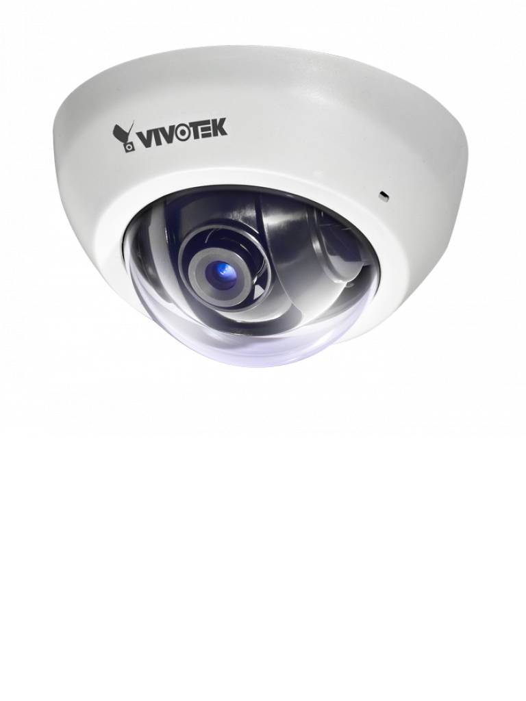 VIVOTEK FD8166A - Camara IP minidomo interior 2  MP full  HD /Lente Fijo 2.8mm/ Audio /  PoE / SNV / Smart stream ii / DWDR / Ranura MICRO SD