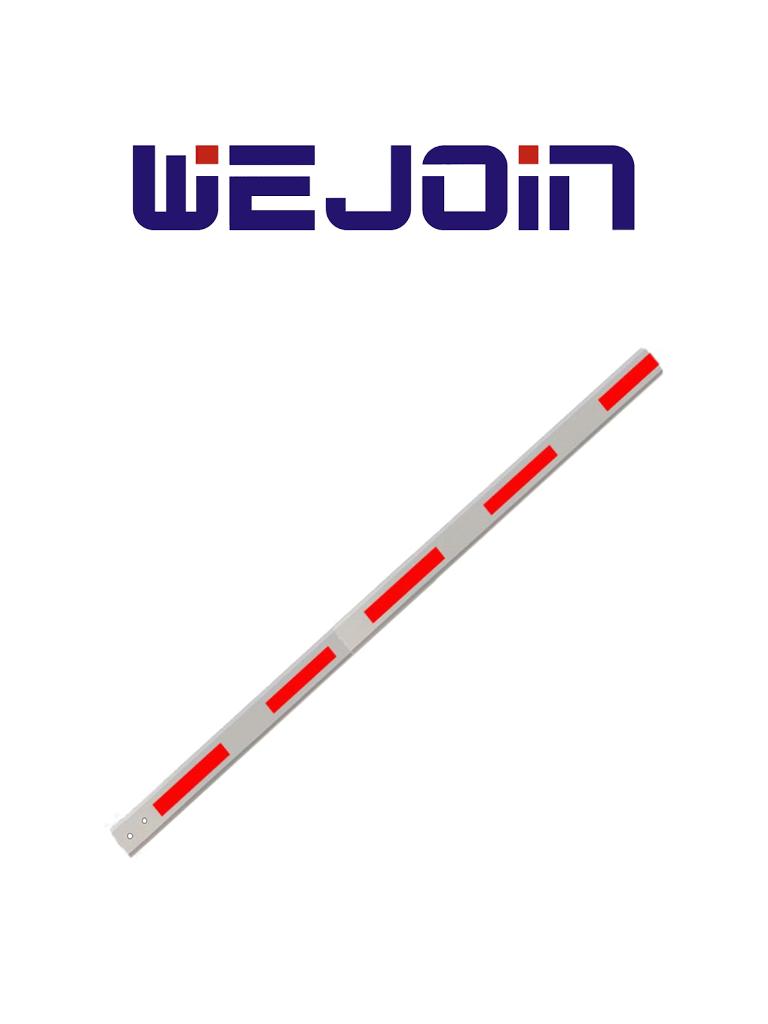 WEJOIN WJSBM6 - Brazo recto de 6 metros para barrera de 6 segundos