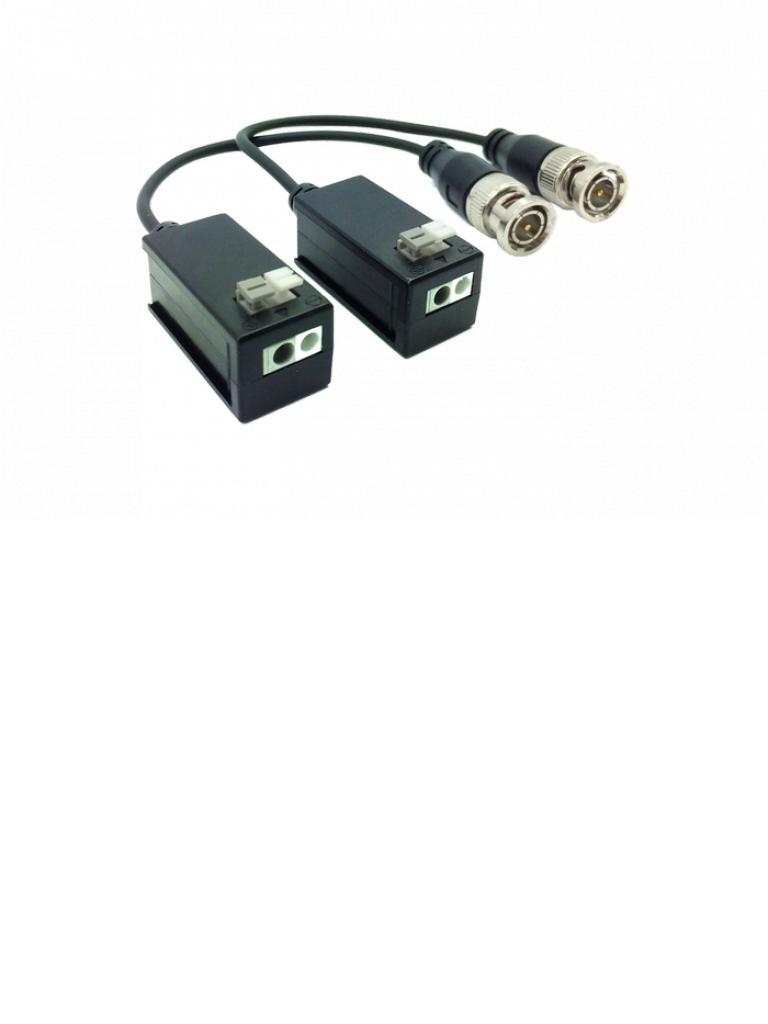 DAHUA PFM800- PAR DE TRANSCEPTORES PASIVOS HDCVI/TRANSMISION VIDEO 450 METROS 720P/250 METROS 1080P/SOPORTA TVI/AHD/