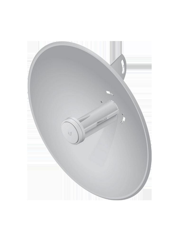 UBIQUITI POWERBEAM PBEM5400 - Radio con antena integrada Airmax 5.8GHz / Exterior / MIMO / Antena 25 dBi / 26 dBm / Rendimiento hasta 150 Mbps