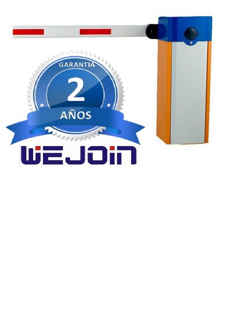 WEJOIN WJDZ101R13 - Barrera derecha de acceso vehicular / Motor de 1 segundo / Brazo de 3 metros