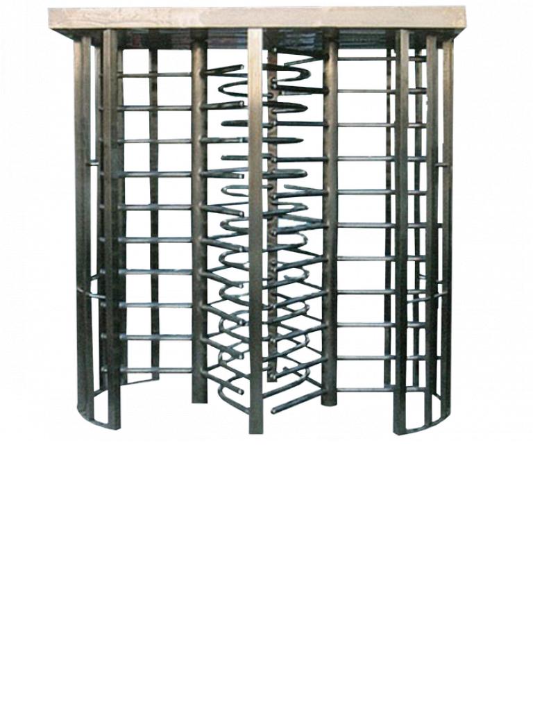 WEJOIN WJFT611 - Torniquete cuerpo completo de acero inoxidable / Doble carril / Exteriores / Carriles BIDIRECCIONALES
