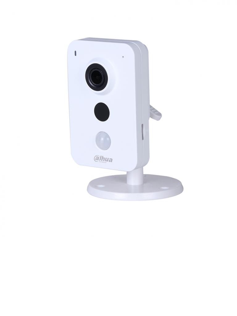 DAHUA IPCK35N - Camara IP cubo 3  MP  WiFi / Lente 2.8  mm / Sensor PIR / Entrada y salida de alarma / Audio bidireccional / Ranura MICRO SD / P2P