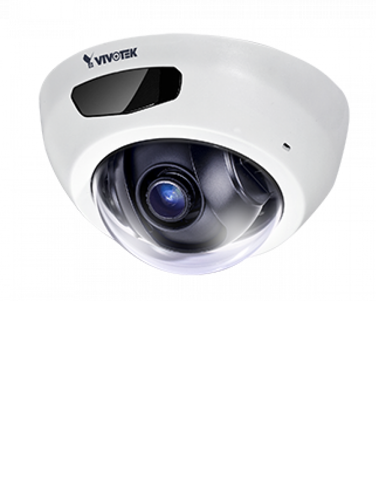 VIVOTEK FD8166AN - Camara IP minidomo interior 2 Mpx/Lente Fijo 2.8 mm / Ir invisible 6  Mts / Audio /  PoE / SNV / Smart stream ii / DWDR / Ranura MICRO SD