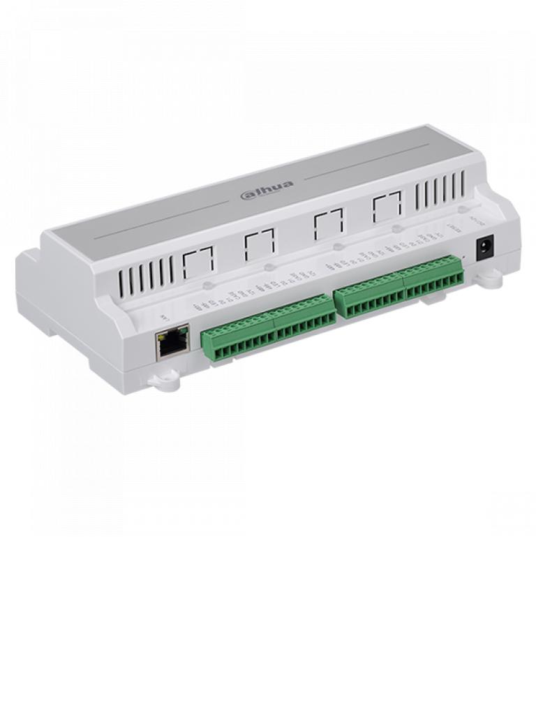 DAHUA  ASC1204B - Control de acceso para 4 puertas / 4 Lectoras por  Wiegand o  RS485 / 100000 Tarjetas / 300000 REG / TCP IP / Admite biometricos DAHUA