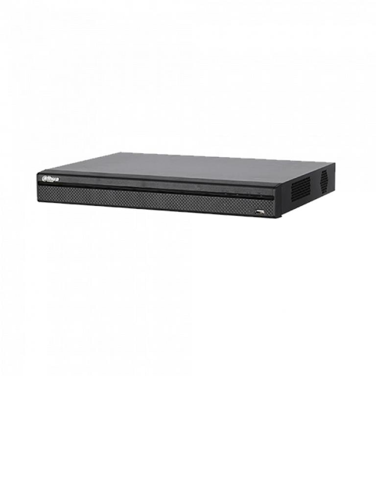 DAHUA HCVR7208AN4M- DVR 8 CANALES HDCVI 4 MEGAPIXELES TRIHIBRIDO/ HDMI 4K/ 4 CANALES IP ADICIONALES 8+4/ 1CH IVS/ 1CH FACE DETECTION/ 1 AUDIO/ P2P
