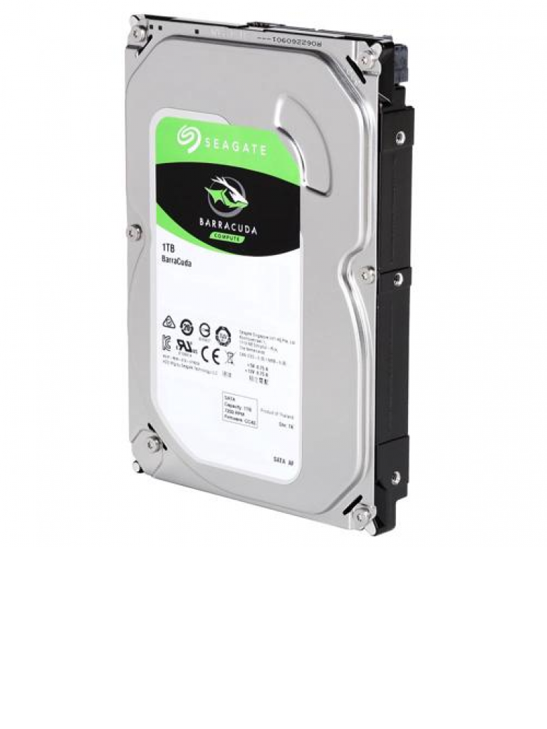 SEAGATE ST1000DM010 - Disco duro 1 TB / Serie BARRACUDA / 7200 RPM / Serial SATA / Recomendado para usos multiples/
