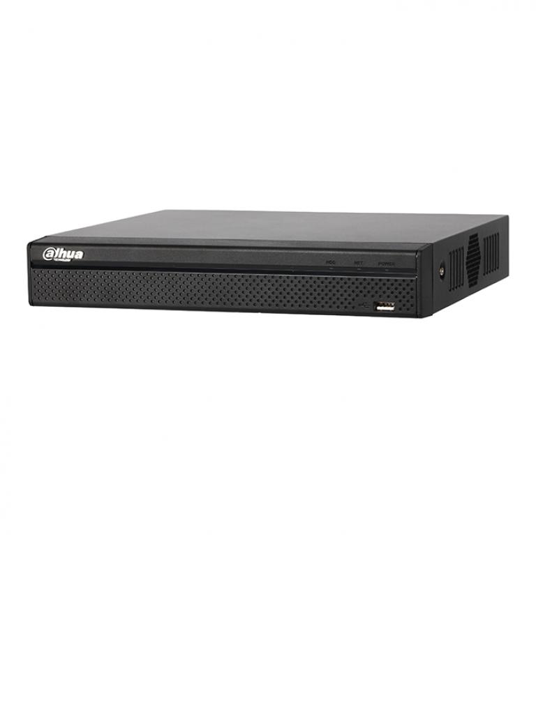 DAHUA NVR4104HP4KS2 - NVR 4 Canales IP / 80 Mbps Grabacion / H265 / H264 / IVS / 4 Puertos  PoE / Audio bidireccional