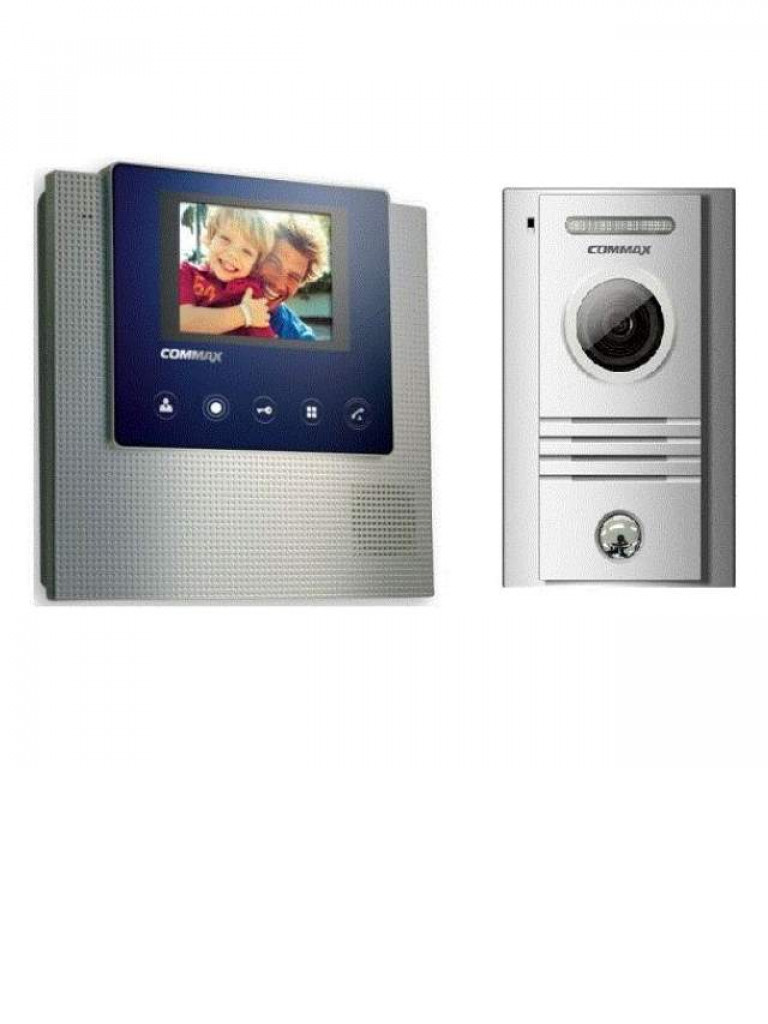 COMMAX CDV43UDRC40K - Monitor color 4.3 pulgadas y frente de calle / Soporta frente adicional / Pantalla  LED / Manos libres / Apertura de puerta