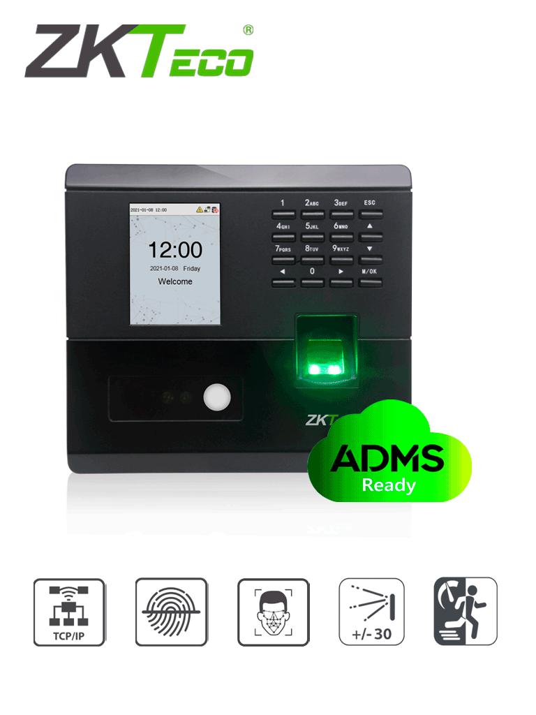 ZKTECO MB10VL- Control de Asistencia y Acceso simple / 400 huellas / 200 rostros Luz Visible / 50000 eventos / TCPIP / #NuevoZK