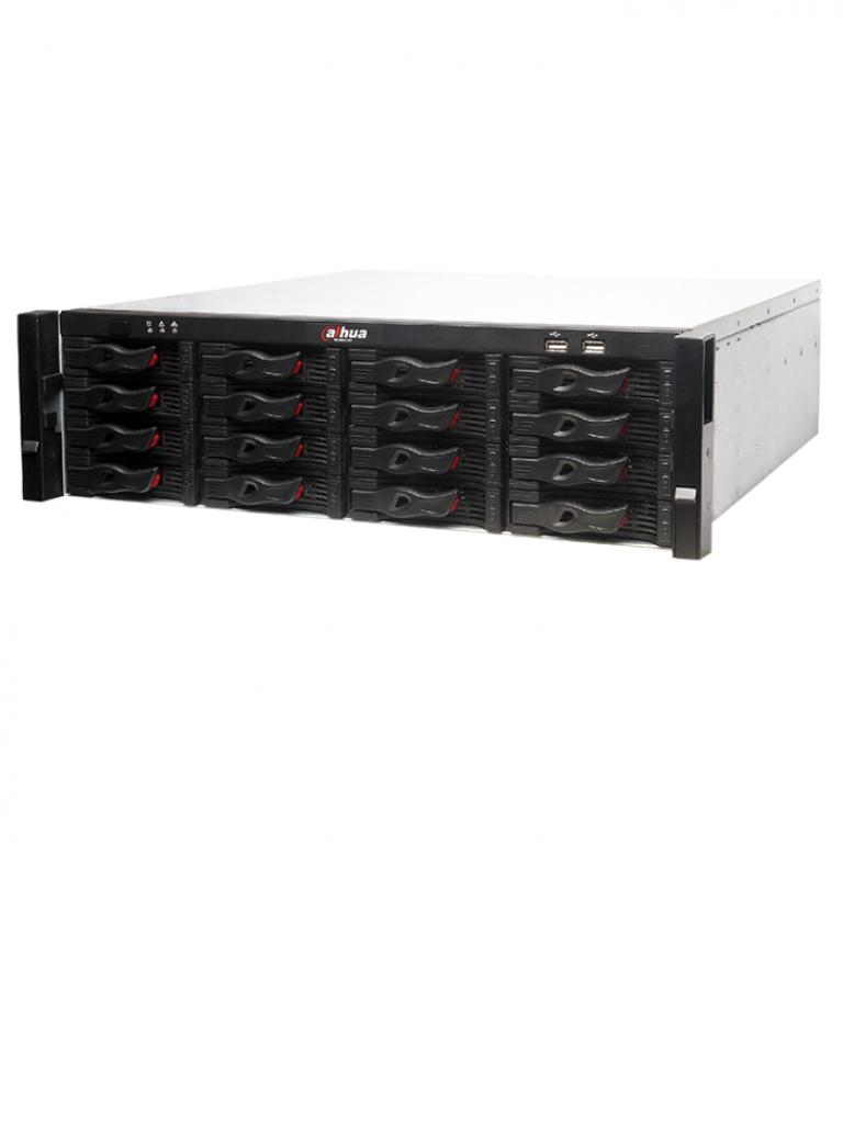 DAHUA NVR6161284KS2- SUPER NVR 128 CANALES DE VIDEO IP 4K / H265/ 2 HDMII/ 16 INTERFAZ SATA / RENDIMIENTO 384MBPS/ RAID/ ISCSI/ IVS/ SMART TRACK
