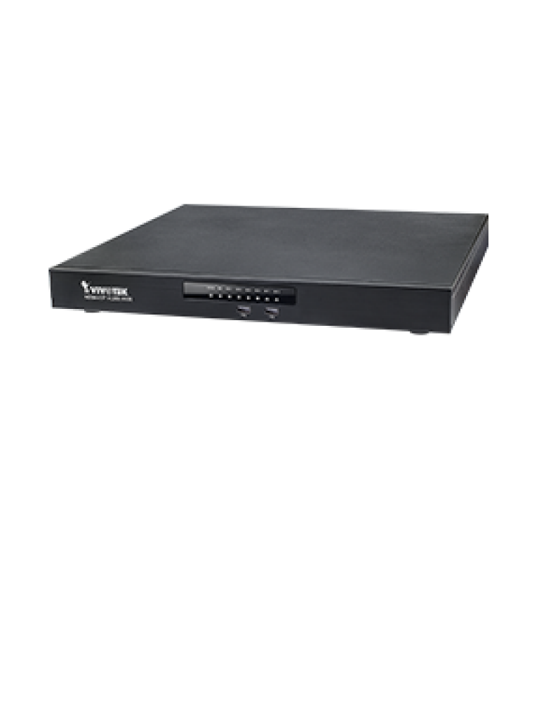 VIVOTEK ND9441P - NVR 16 Canales / 16 Puertos  PoE AF / AT / 160  Watts Total / Auto SETUP / Hasta 4  HDD / Salida  HDMI / EZ CONNECT / THROUGHPUT 192  Mbps