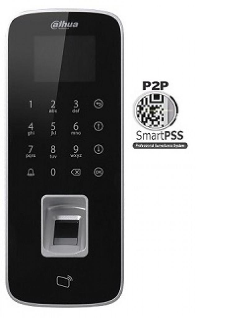 DAHUA ASI1212DD- Control de Acceso STANDALONE/ Conexion remota P2P SMARTPSS / Para exterior IP65 / 3000 Huellas/ Tarjetas ID