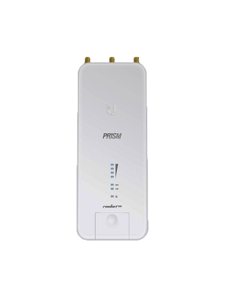 UBIQUITI R2AC- ACCESS POINT INALAMBRICO AIRMAX AC 2.4GHZ/ EXTERIOR/ MIMO/ 2 CONECTORES RP-SMA/ 27DBM/ RENDIMIENTO HASTA 330MBPS/ GPS