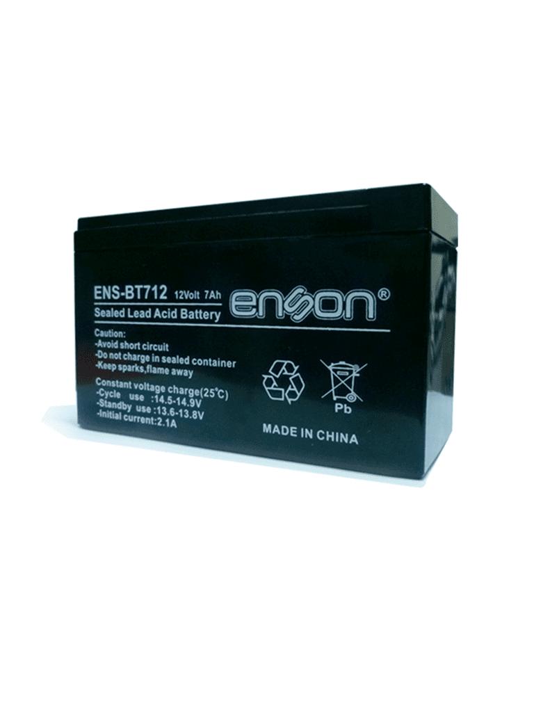 SAXXON ENSBT712- Batería de respaldo de 12 volts libre de mantenimiento y fácil instalación / 7 AH/