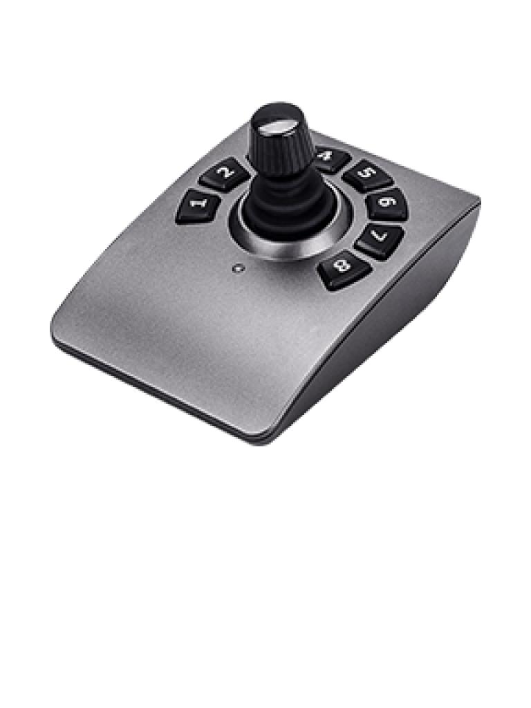 VIVOTEK AJ001 - JOYSTICK Para camaras IP PTZ VIVOTEK / 8 Teclas flexibles / WINDOWS 7 / 8 / 10 / INTERFAZ  USB / Compatible con software VAST /  USB 5 VDC A 100 MA