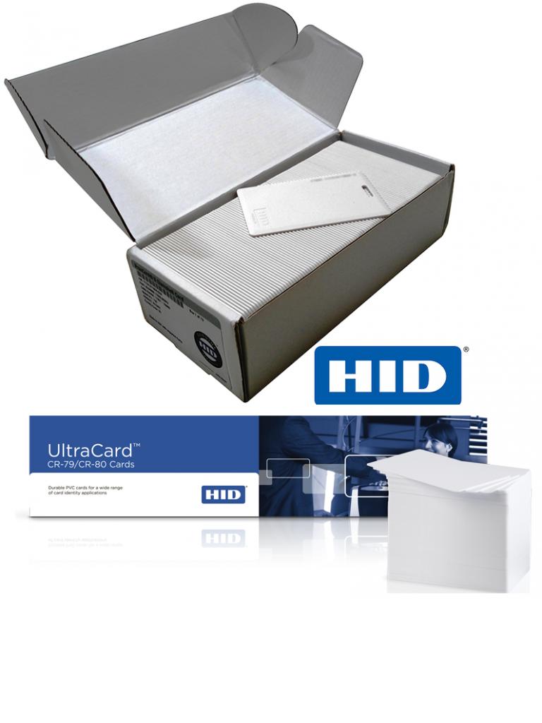 HID PROXCARDIIPK - Paquete 100 tarjetas de proximidad / PROXCARD Ii / 125 Khz / Tipo CLAMSHELL / Ranura vertical / Incluye 500 tarjetas con ADESHIVO PVC10M