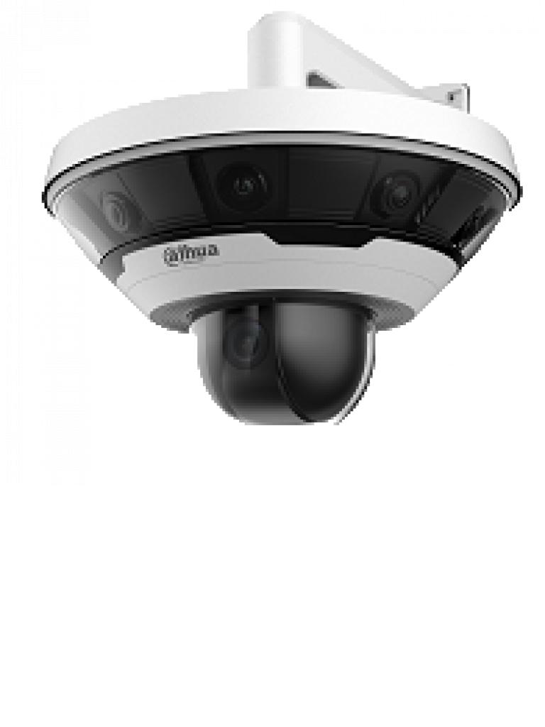 DAHUA IPCPSD81602A36 - Camara IP domo MULTISENSOR panoramico + camara PTZ 37X / 2 Megapixeles / 8 Lentes / 360 Grados / H.265+ / IVS / IP67 / IK10 / IVS