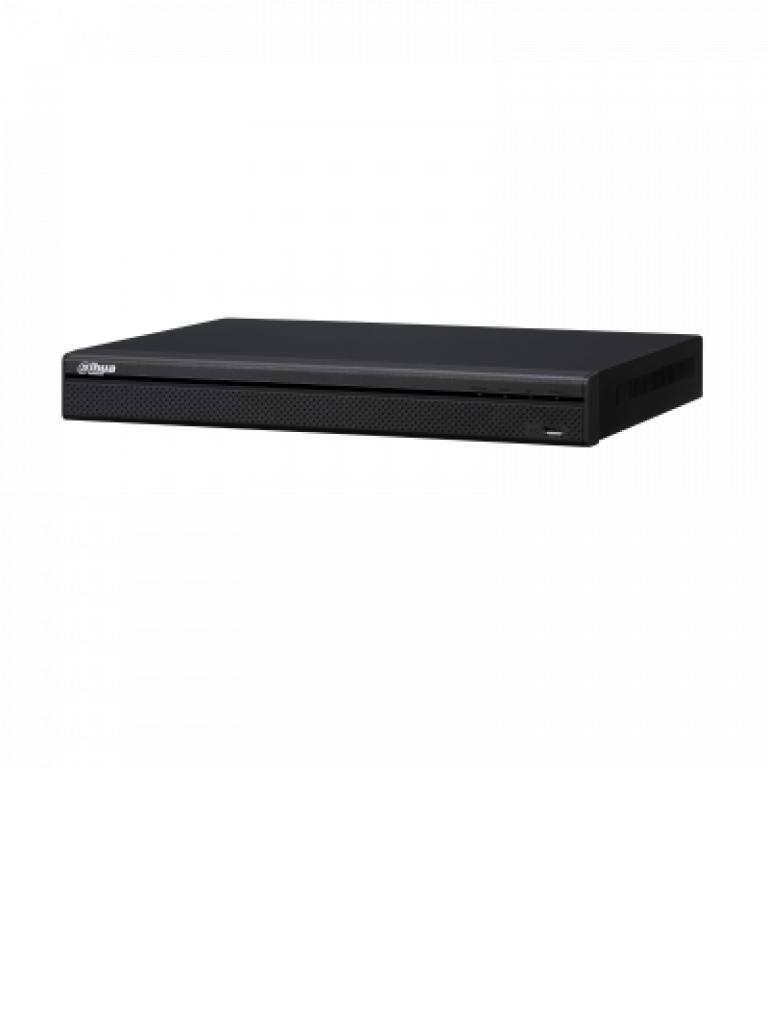 DAHUA NVR5208P4KS2 - NVR 8 CANALES IP 4K/ H265+/ RENDIMIENTO GRABACION 320 MBPS HASTA 12 MP/ 8 PUERTOS POE/ HDMI/ POS/ 2 SATA/ P2P/ DEWARPING