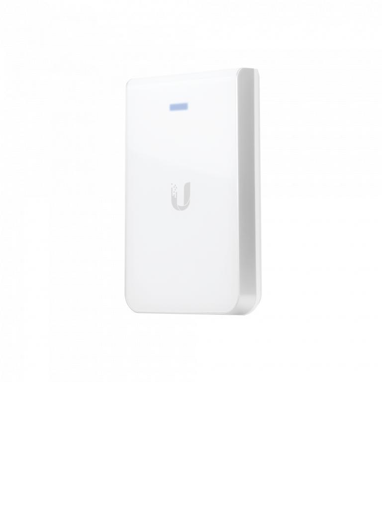 UBIQUITI UAPACIW - Access Point Inalámbrico UniFi AC para pared / Doble Banda 802.11ac / Interior / MIMO 2x2 / 20 dBm / Hasta 1167 Mbps