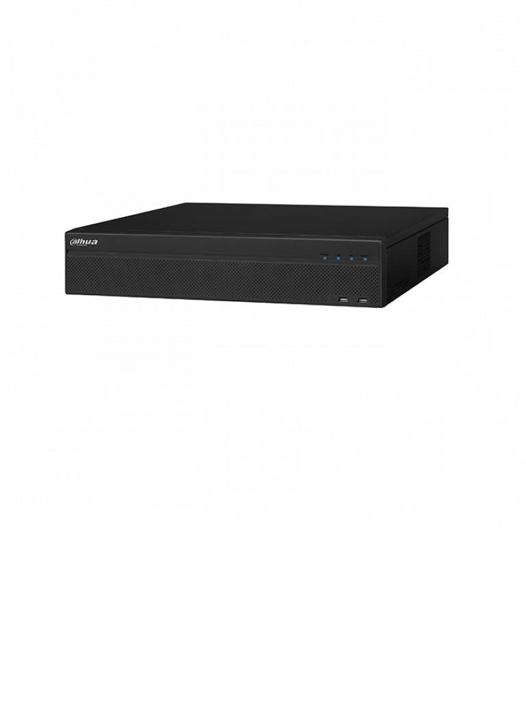 DAHUA XVR8816S - DVR 16 Canales  HDCVI pentahibrido 4 MP / 4K /  1080p / H264+ / 2 HDMI 4K / 48 Ch IP adicionales hasta 12 MP / IVS / DEWARPING / 8 SATA Hasta 64TB
