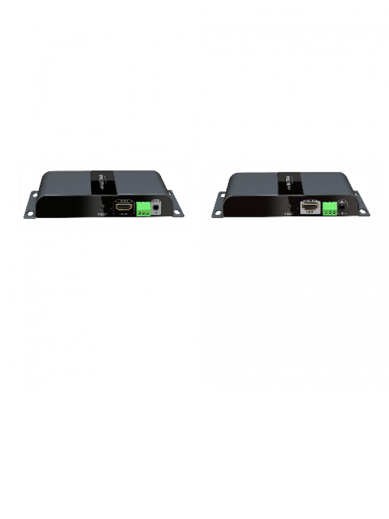 SAXXON LKV378S - Extensor  HDMI / H dBITT / Sobre IP / Fibra /  RS232