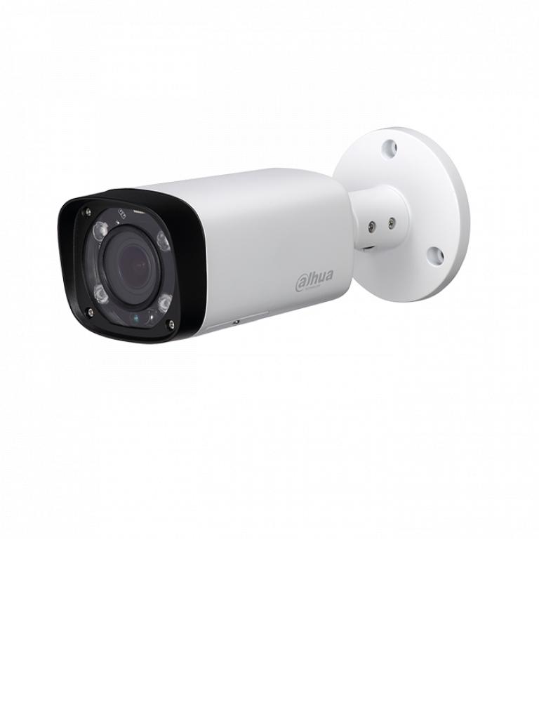 DAHUA IPCHFW2431RZS - Camara IP bullet 4 megapixeles / WDR Real 120 dB / Lente motorizado 2.7 a 13.5 mm / Ir 60  Mts / IP67 /  PoE / Ranura MICRO SD