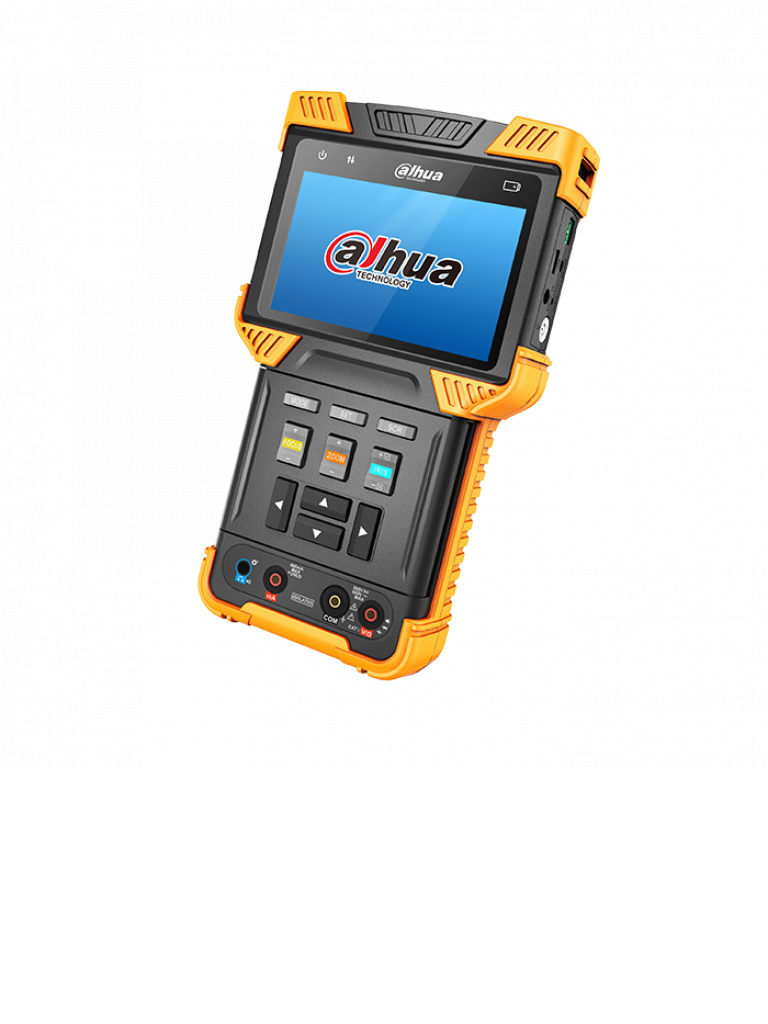 DAHUA PFM900E- PROBADOR DE SENAL HDCVI/ ANALOGICA/ IP/ ONVIF/ CONTROL PTZ/ PANTALLA DE 4 PULGADAS/