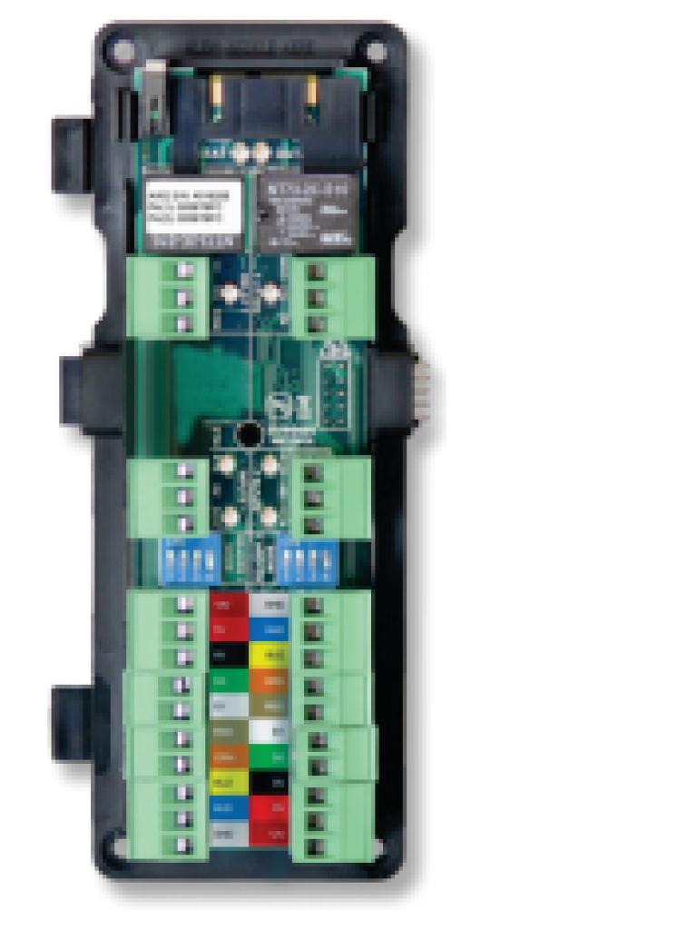 HID AW2 - Modulo para 2 lectores  Wiegand 2 relay / Conexion con panel  HID ACW2XN hasta 4 modulos / Conexion de boton y voltaje para lectora