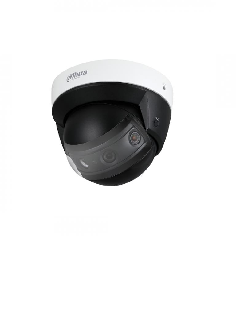 DAHUA IPCPDBW8800A18 - Camara domo IP MULTISENSOR panoramico / 2 Megapixeles por lente / 4 Lentes / Vision 180 grados / H.265+ / Ir 30  Mts / IVS / IP67 / IK10