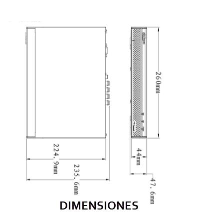 XVR5104HSX1dimensiones2
