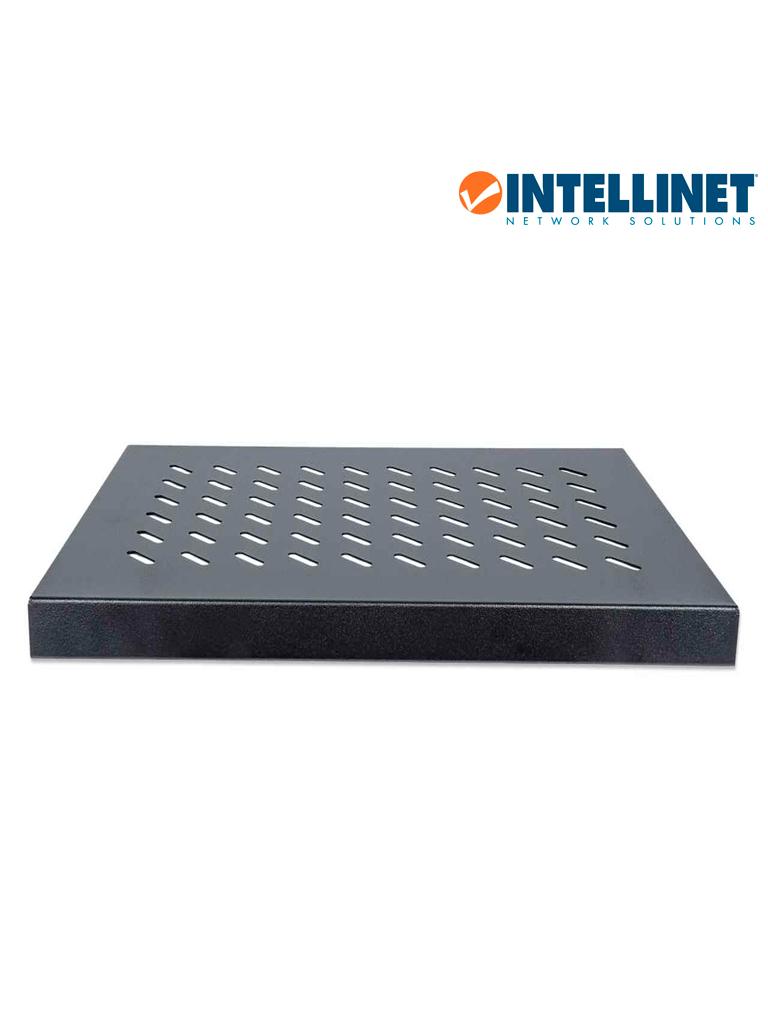 INTELLINET 712521 - Charola Gabinete / 19pulg / 1U / Fija / 35cm / Ventilada / 50kg