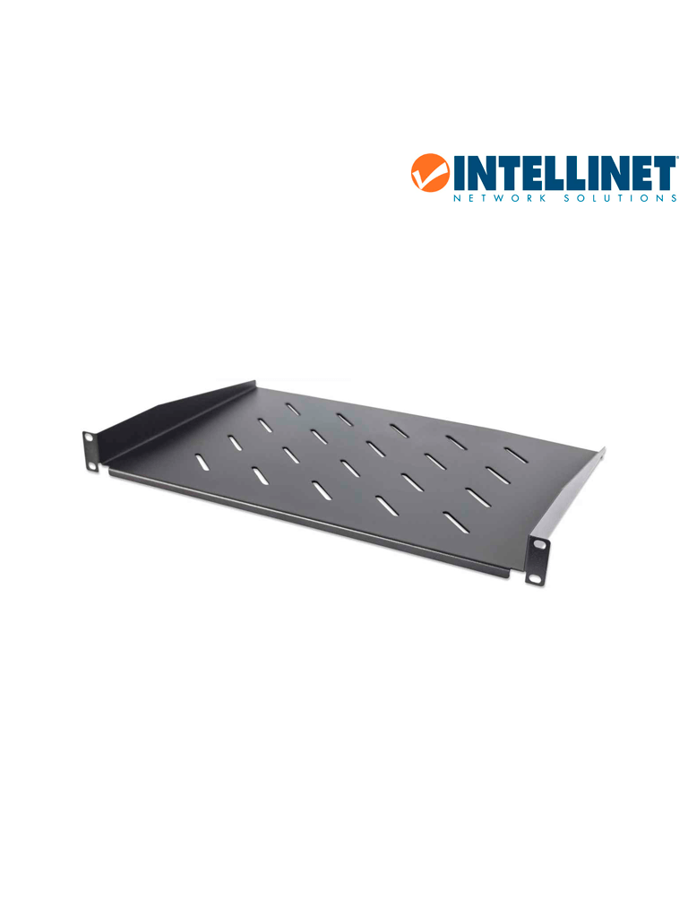 "INTELLINET 714884 - Charola Rack 19"" / 1U / 30cm / Ventilada / 25kg"