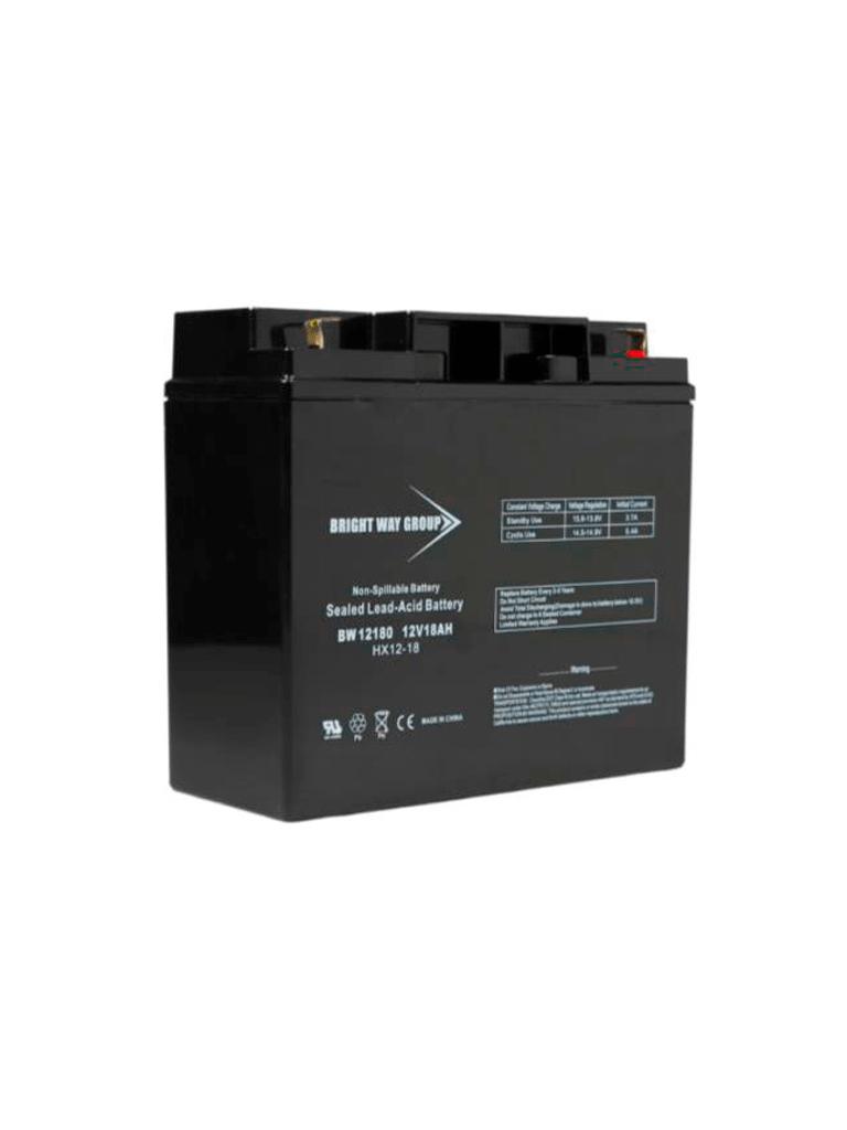 SAXXON BW12180 - Batería de respaldo de 12 Volts libre de mantenimiento y fácil instalación/ 18AH
