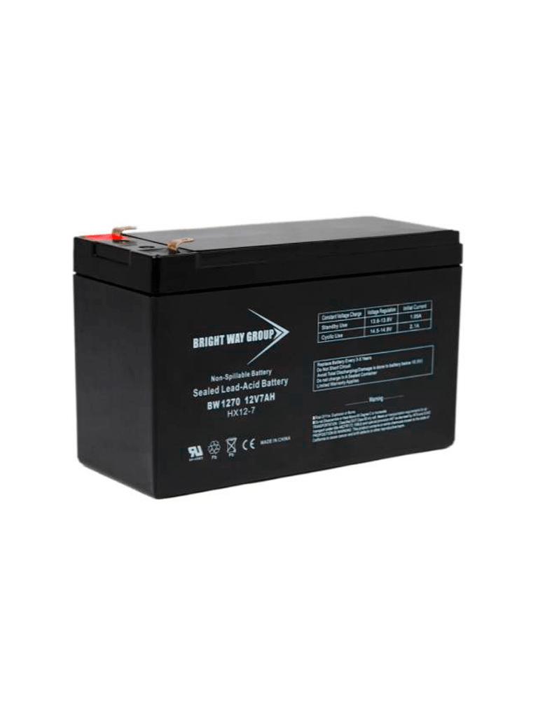 SAXXON BW1270 - Batería de respaldo de 12 Volts libre de mantenimiento y fácil instalación/ 7AH