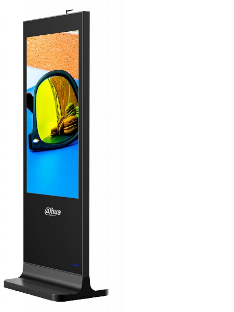 DAHUA LDV55SAI200- TOTEM LCD DE 55 PULGADAS / USO INTERIOR/ ANDROID/ CARCASA DE METAL/ VIDEO,IMAGENES Y TEXTO ADMINISTRABLE REMOTAMENTE