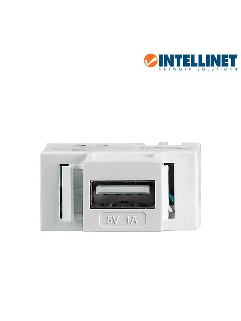 INTELLINET 772167 - Cople USB / Keystone / Blanco 1A