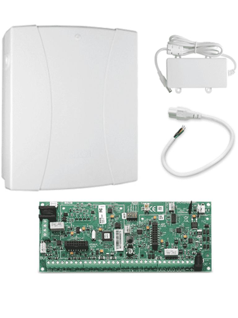 Panel-de-Alarma-Hibrido-Modular-Grado-2-Sin-Teclado-LCD-8-50-Zonas-Cableadas-Inalámbricas-BUS-Fuente-de-14.40-v-DC-Gabinete-policarbonato-1