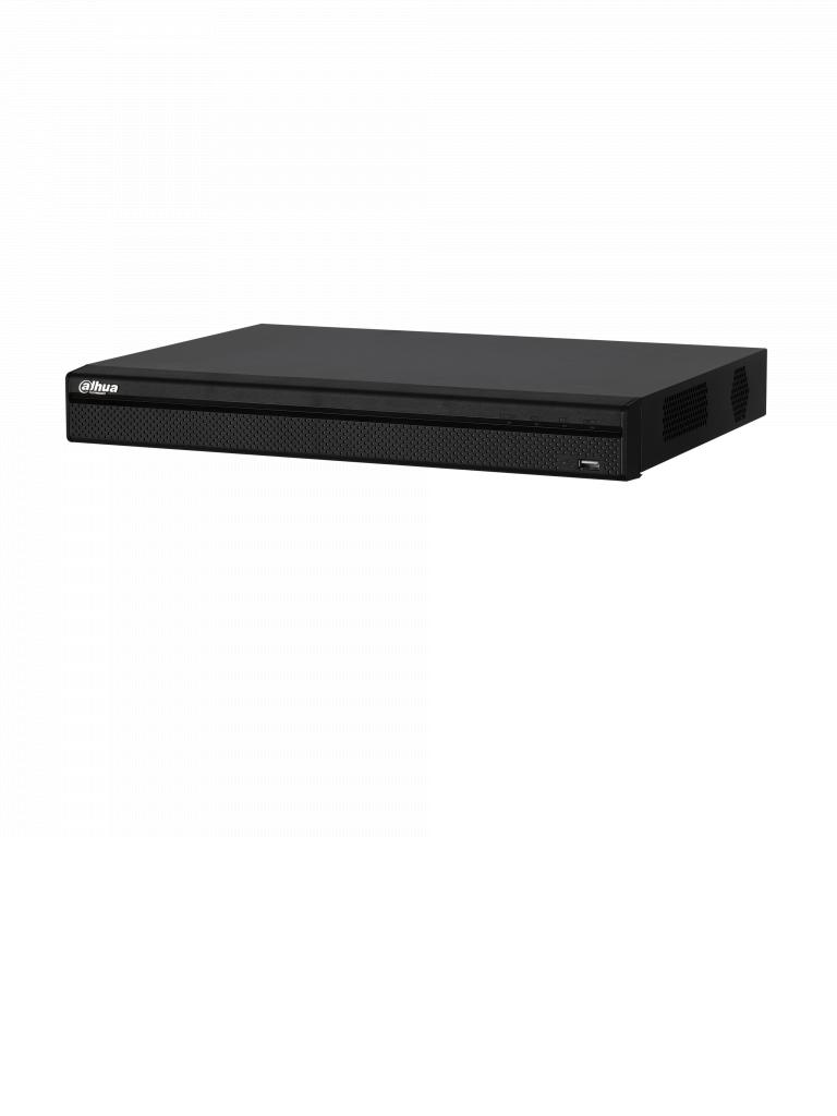 DAHUA XVR5216AS2- DVR 16 CANALES HDCVI PENTAHIBRIDO 1080P/ 4MP LITE/ 720P/ H264+/ 8 CH IP ADICIONALES 16+8/ IVS/ 2 SATA HASTA 16TB/ P2P/ SMART AUDIO H