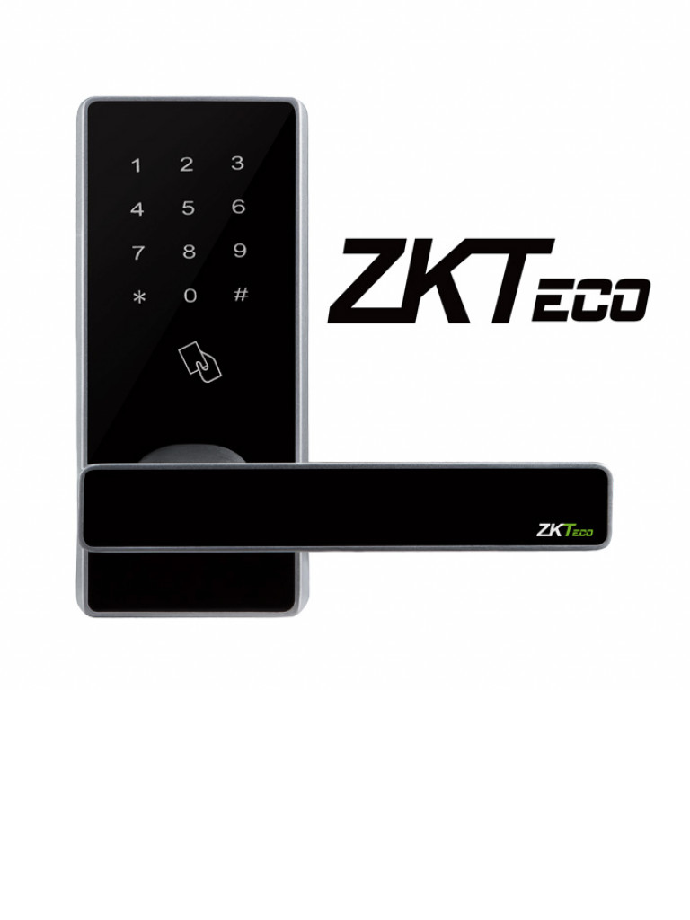 ZKTECO DL30DB - Cerradura de Proximidad y Teclado Táctil Standalone / 100 Tarjetas  ID / Doble pestillo / Bluetooth / Izquierda y Derecha