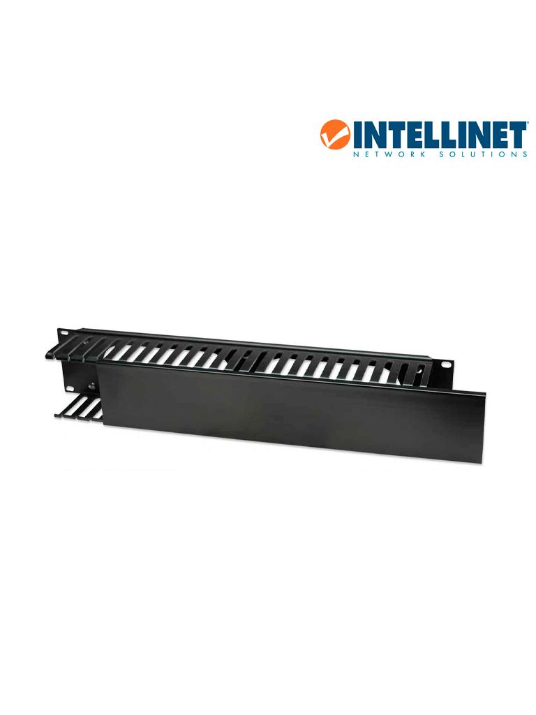 """INTELLINET 168458 -  Organizador Cables 19""""/ 2U / plástico"""