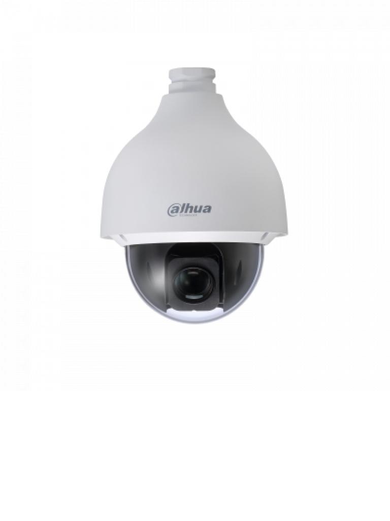 DAHUA SD50225IHCS3 - Cámara PTZ STARLIGHT de 2 MP  HDCVI / 25X Zoom óptico / WDR Real 120 dB / 0.005 Lux color / IP67 / IK10 Antivandálico / 360 Grados continuos