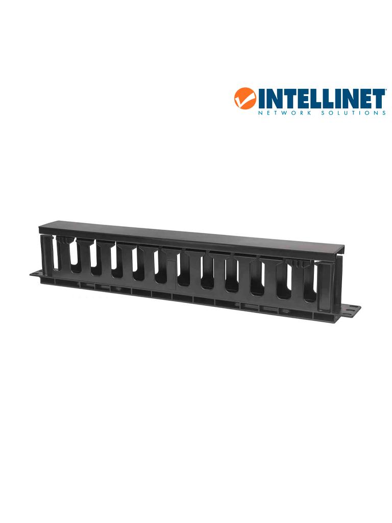 "INTELLINET 714679 - Organizador Horizontal /19"" / 1U / Plástico / 8cm"