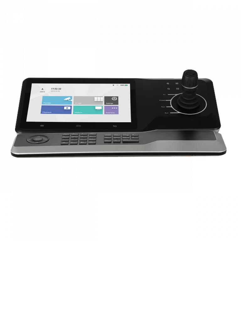 DAHUA NKB5000-F - DAHUA NKB5000-F - Teclado Controlador con Joystick para PTZs Analogicas e IP/ Control de DVRs y NVRs/ Pantalla Tactil de 10 Pulgadas/ RJ-45/ WiFi/ RS232/ Pelco D & P/ 4 HDMI